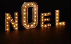 noel sign john lewis christmas lights