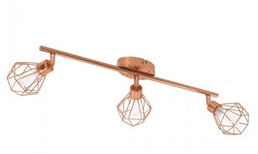 copper spotlight dining room lighting ceiling