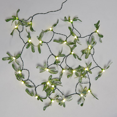 mistletoe christmas lights dunnes stores