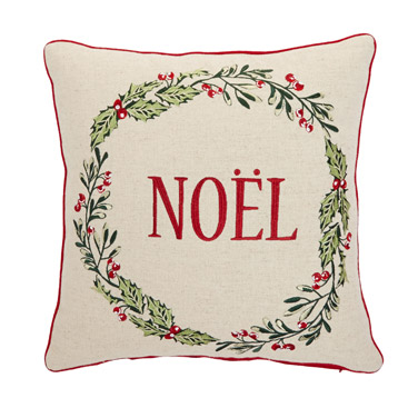 Christmas cushion dunnes stores