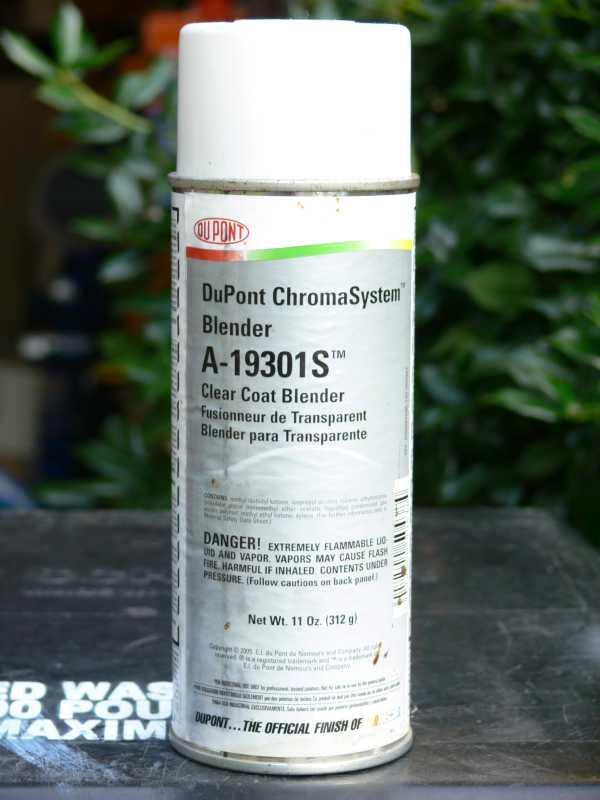 Automotive Paint Spray Can
