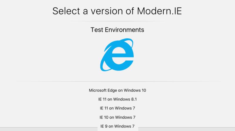 Modern.ie
