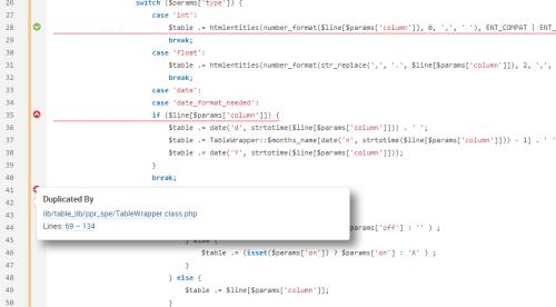 duplication de code SonarQube