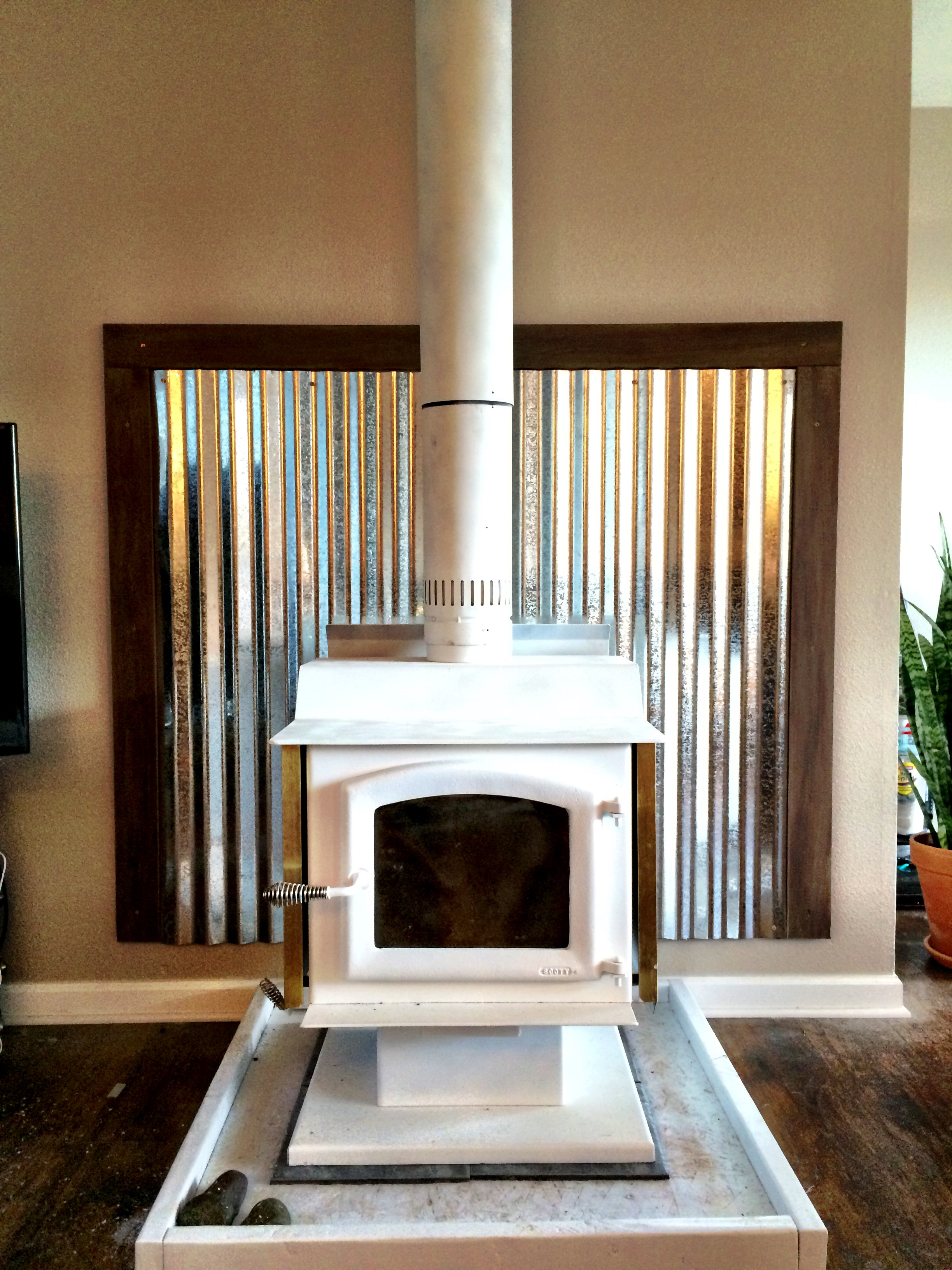 Tin Fireplace Surround 1000+ Images About Fireplace On Pinterest | Stove, Wood