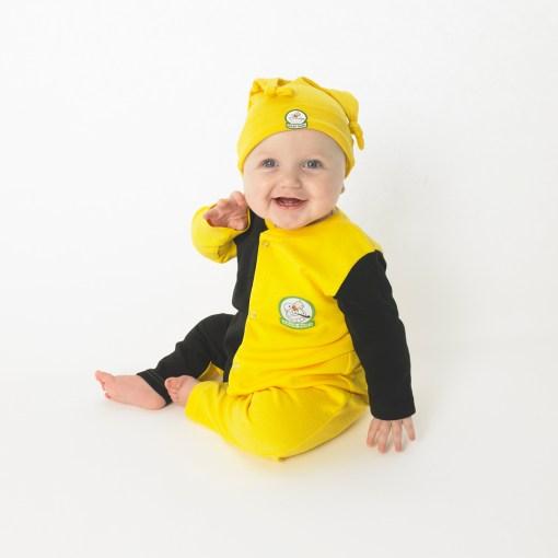 GagaBaby Kilkenny GAA Babygro and Hat Set