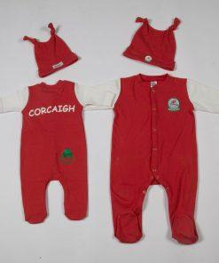 GagaBaby Cork GAA Babygro and Hat Set