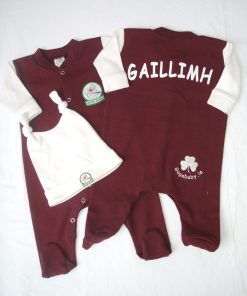 GagaBaby Galway GAA Babygro and Hat Set