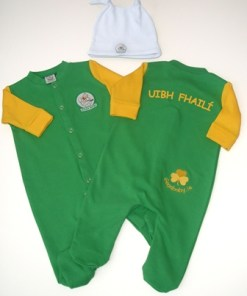 GagaBaby Offaly GAA Babygro and Hat Set