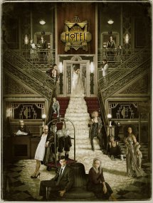 American Horror Story Hotel Cast Poster Revealed
