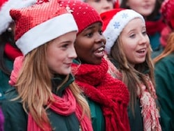 Caroling on Christmas Day Spreads Joy