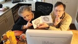 Skyping grandparents