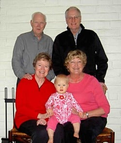 child with 4 grandparents