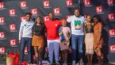 The Kings Drive team with Lethiwe and Sphamandla (left) and Asanda and Zinhle (right)