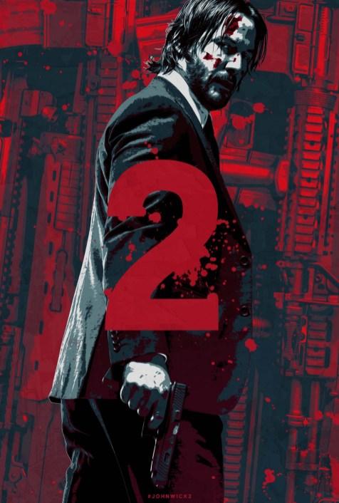 Der er lanceret en hel serie af custom posters til John Wick 2 og det er ret fedt, lige indtil...