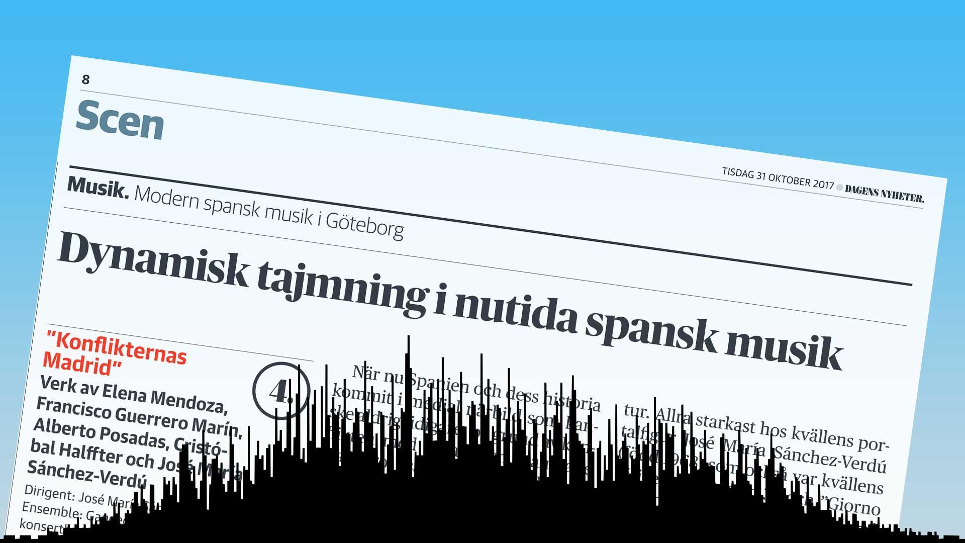 Recension i Dagens Nyheter