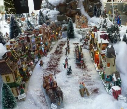 Ein schönes Weihnachtsdorf