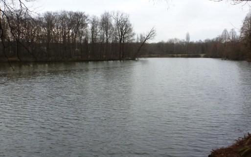 Saaler Mühlensee im Erholungsgebiet