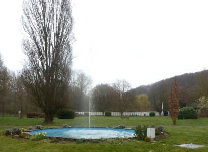 Der Springbrunnen vom Kurpark zu Bad Bodendorf