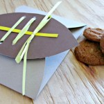 Football Friday: Cookie Favor Envelope