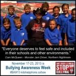 Bullying Awareness Week November 17-23, 2013