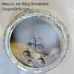 Craft Lightning Holiday Edition: Mason Jar Ring Ornament in under 15 Minutes
