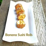 Banana Sushi Rolls {12 Days of School Lunches}