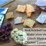 DIY Lunch Meat and Cracker Lunch Kits {12 Days of School Lunches}