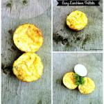 Easy Lunchbox Frittata: Back to School Lunch