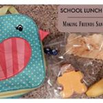 School Lunch Idea: Making Friends Sandwiches