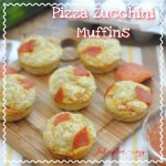 Pizza Zucchini Muffins: Back to School Lunch