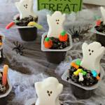 Graveyard Pudding Cups {12 Days of Halloween}