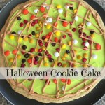 Hallowe'en Cookie Cake {12 Days of Hallowe'en}