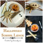 Halloween School Lunch {12 Days of Hallowe'en}