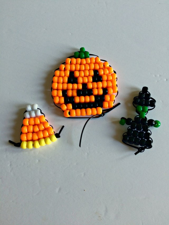 Hallowe'en pony bead patterns @ GagenGirls.com