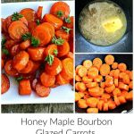 Honey Maple Bourbon Glazed Carrots {12 Days of Thanksgiving}