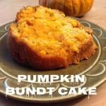 Pumpkin Bundt Cake {12 Days of Thanksgiving}