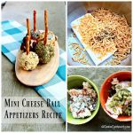 Mini Cheese Balls Appetizers {12 Days of Christmas}