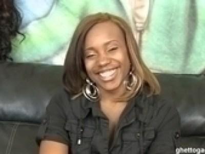 Ghetto Gaggers kiandra Cock Gagging Black Slut Cum Facial Video