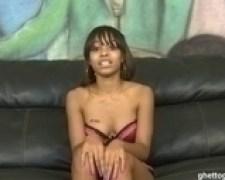 Ghetto Gaggers Sharday Cock Gagging Black Slut Cum Facial Video