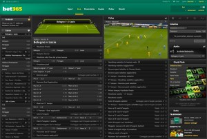 bet365 pour les matches en streaming