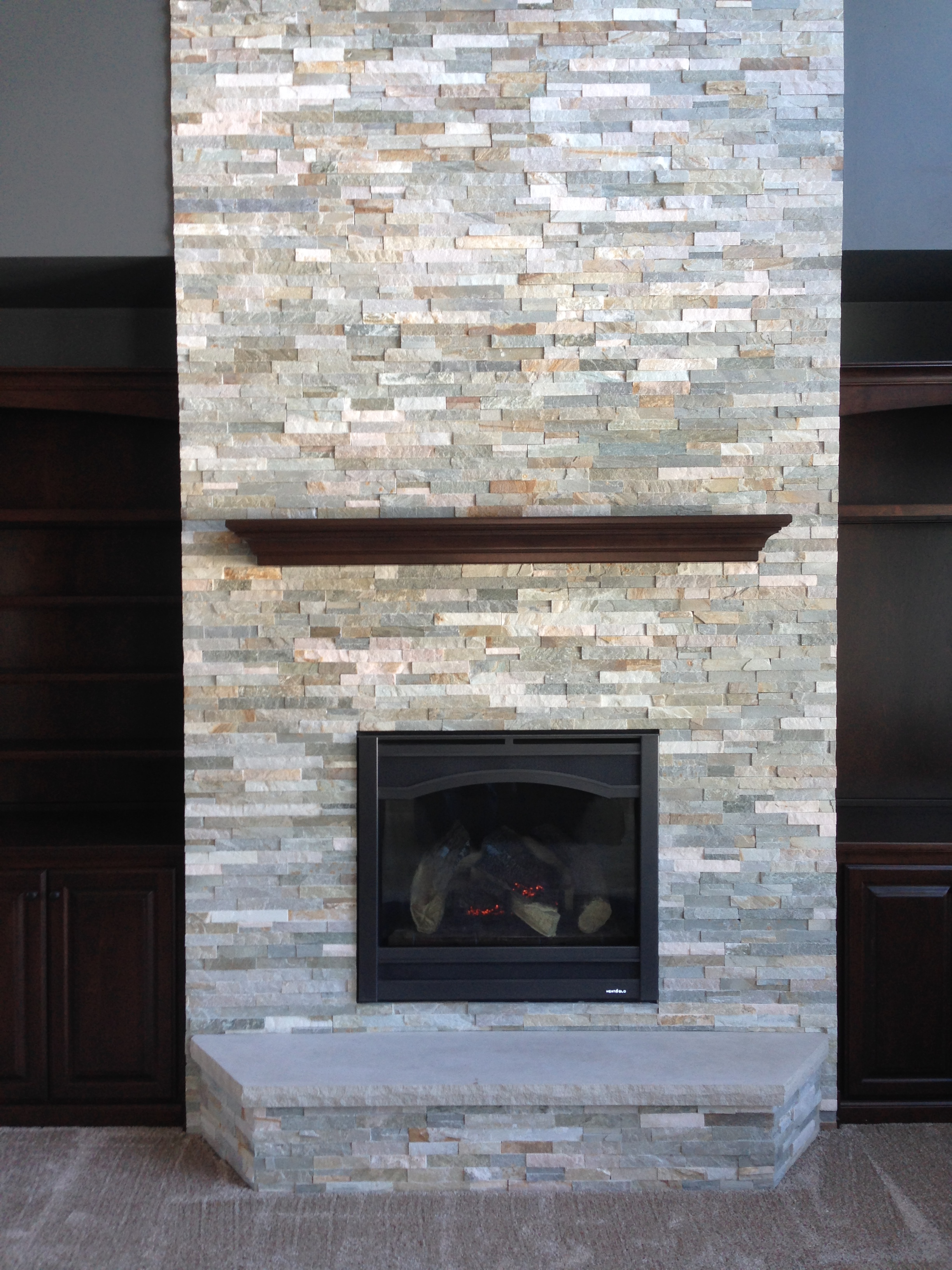 Brick Fireplaces Project Photos - Gagnon Clay Products
