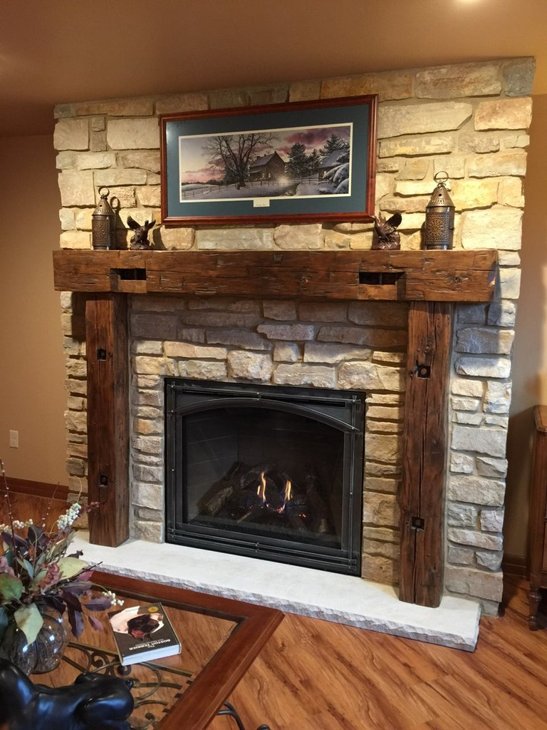 Fireplace Fire Brick Repair Project Photos - Gagnon Clay Products