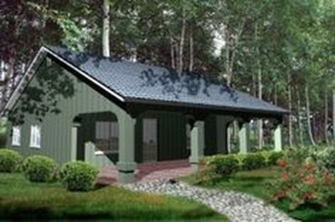 Adorable Cabin Style Ideas For Small House 08
