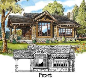 Adorable Cabin Style Ideas For Small House 19