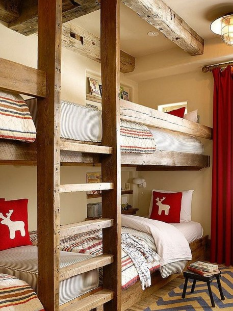 Adorable Cabin Style Ideas For Small House 21