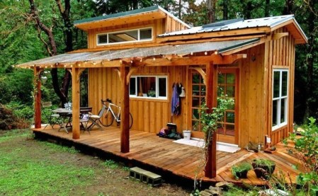 Adorable Cabin Style Ideas For Small House 31