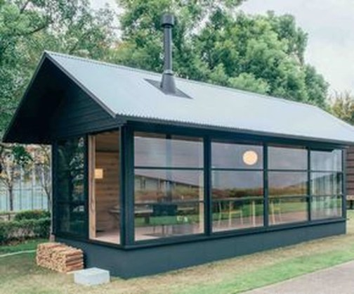 Adorable Cabin Style Ideas For Small House 37