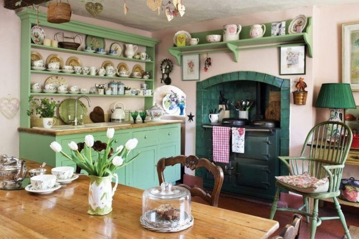 Affordable English Country Kitchen Decor Ideas 35