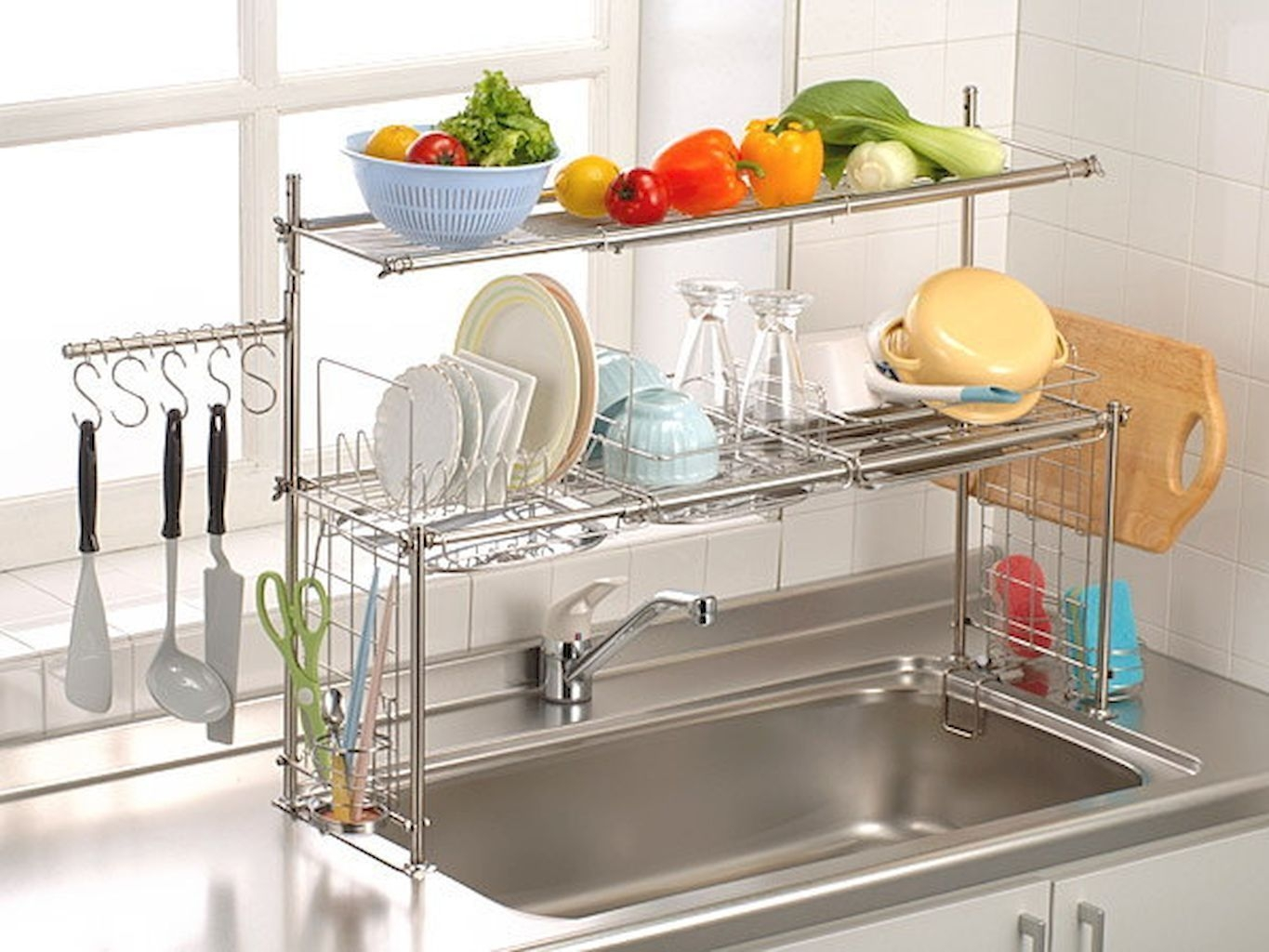 Beautiful Dish Rack Ideas For Your Small Kitchen 40