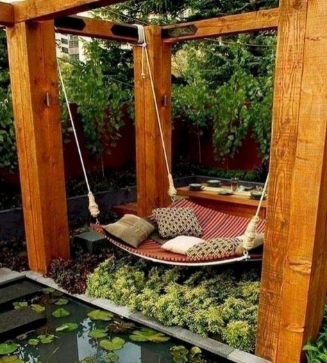Brilliant Hammock Ideas For Backyard 16